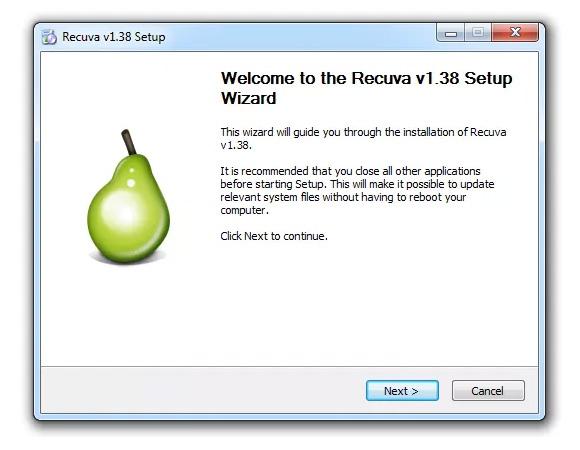 recuva install 1