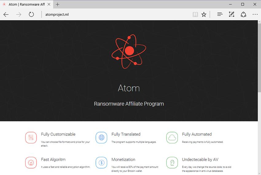 atom ransomware