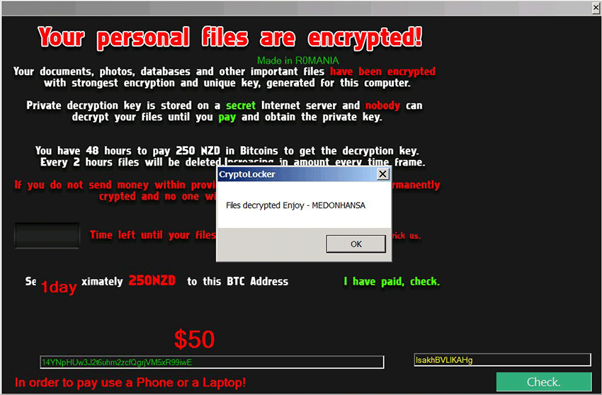 NoobCrypt ransomware